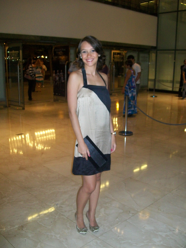 Look Buenos Aires: Vestido Animale + Clutch Yves Saint Laurent