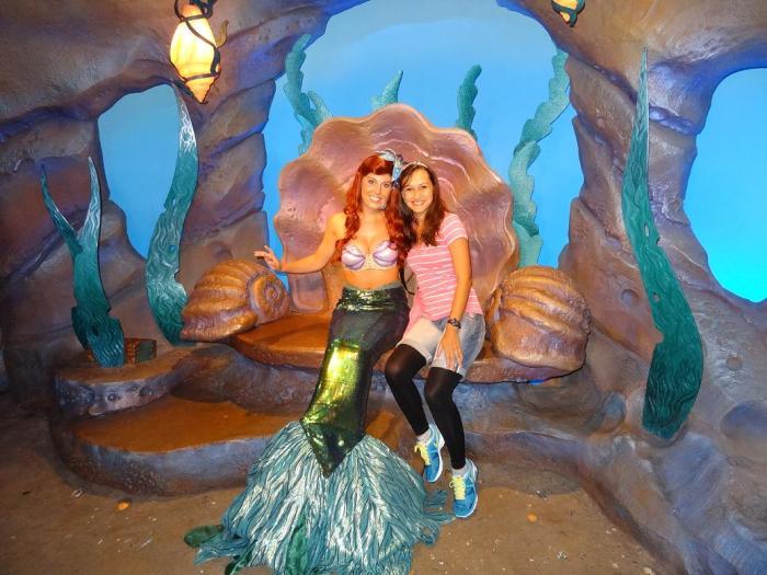 Ariel e Eu.
