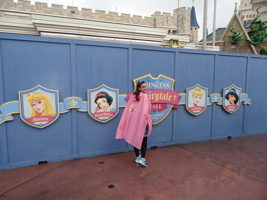 Look do dia: Capa de chuva Princesas.