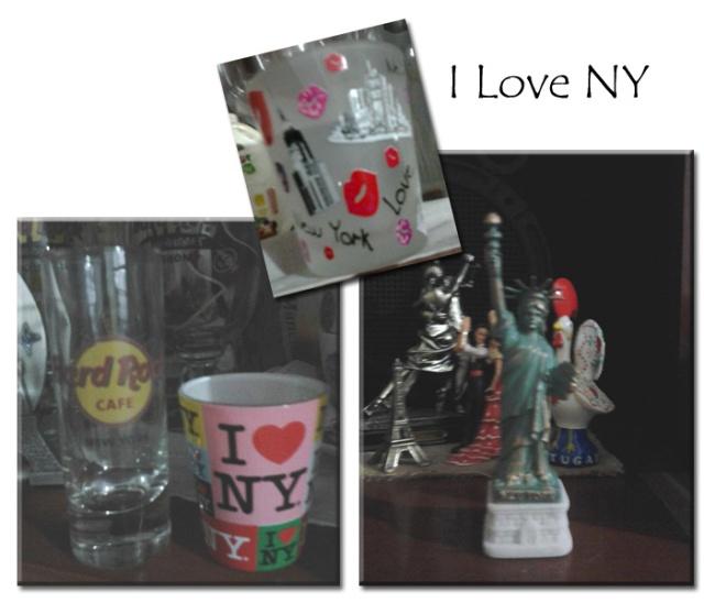 Souvenirs I love NY