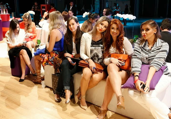 Blogueiras Leanda Livia, Raquel Minelli, Bianca Andrade (Boca Rosa) e Dani Salvador.