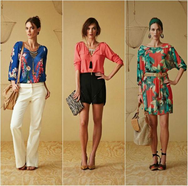 Estampas, pantalonas, vestidos e camisas. Maria Filó.