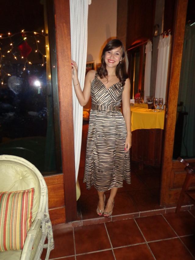 Vestido Maria Filó + Sandália Andarella